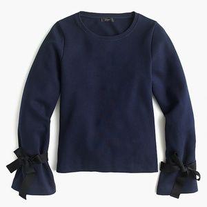 Tie-sleeve sweatshirt NEW!